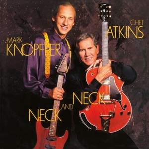 ATKINS, CHET/MARK KNOPFLE - NECK AND NECK -COLOURED-