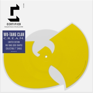 WU-TANG CLAN - C.R.E.A.M./DA MYSTERY OF CHESSBOXIN' // SHAPED 'W'-DISC