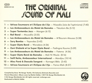 VARIOUS - ORIGINAL SOUND OF MALI