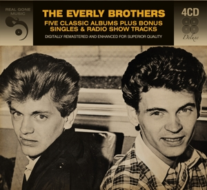 EVERLY BROTHERS - 5 CLASSIC ALBUMS PLUS