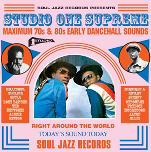 VARIOUS - STUDIO ONE SUPREME-MAXIMUM 70S AND 80S