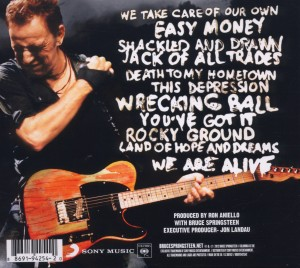 SPRINGSTEEN, BRUCE - WRECKING BALL -DIGI-