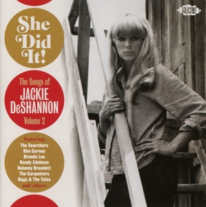 DESHANNON, JACKIE - SHE DID IT!