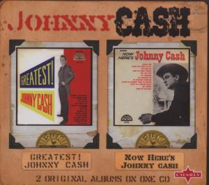 CASH, JOHNNY - GREATEST!/NOW HERE'S JOHN
