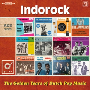 VARIOUS - GOLDEN YEARS OF DUTCH POP MUSIC - INDOROCK