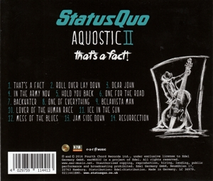 STATUS QUO - AQUOSTIC II - THAT'S A FAFACT!