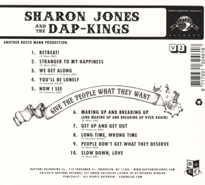 JONES, SHARON & THE DAP-K - GIVE THE PEOPLE WHAT..