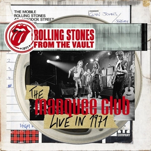 ROLLING STONES - FROM THE VAULT - THE MARQUEE 1971 (