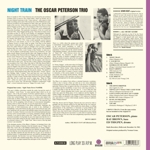 PETERSON, OSCAR - NIGHT TRAIN -COLOURED-