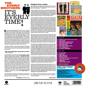 EVERLY BROTHERS - IT'S EVERLY TIME -HQ-