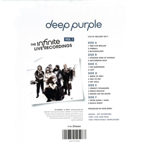 DEEP PURPLE - INFINITE LIVE RECORDINGS