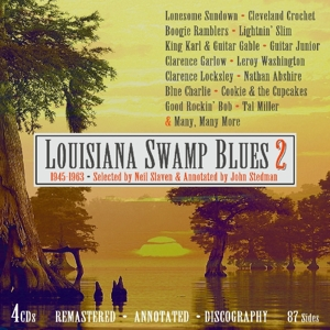 VARIOUS - LOUSIANA SWAMP BLUES. VOL. 2 1945-1