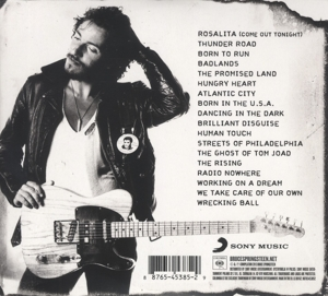 SPRINGSTEEN, BRUCE - COLLECTION: 1973 - 2012