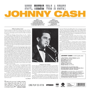 CASH, JOHNNY - NOW, THERE WAS A.. -HQ-