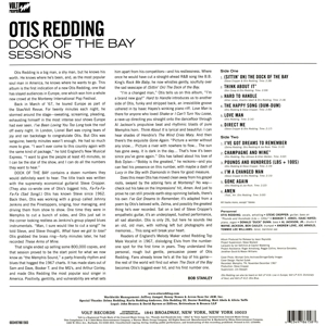 REDDING, OTIS - DOCK OF THE BAY SESSIONS
