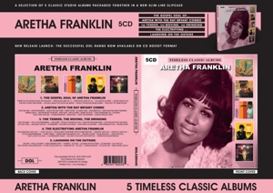 FRANKLIN, ARETHA - TIMELESS CLASSIC ALBUMS