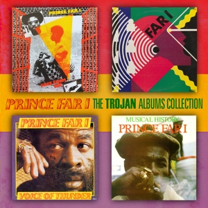 PRINCE FAR I - TROJAN ALBUMS COLLECTION -BONUS TR-