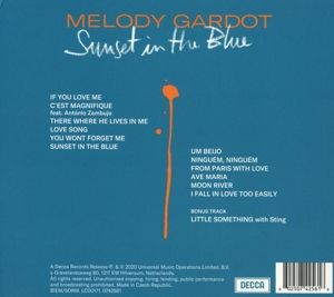 GARDOT, MELODY - SUNSET IN THE BLUE