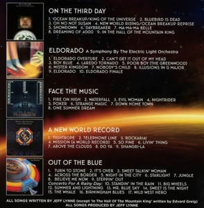 ELECTRIC LIGHT ORCHESTRA - STUDIO ALBUMS 1973-1977 - Sounds