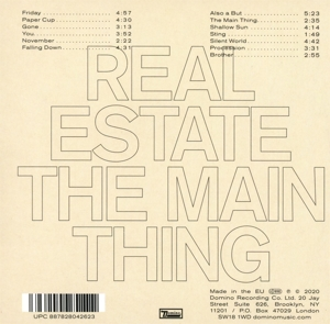 REAL ESTATE - MAIN THING