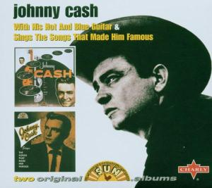 CASH, JOHNNY - WITH HIS HOT & BLUE