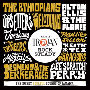 VARIOUS - THIS IS TROJAN ROCK STEADY