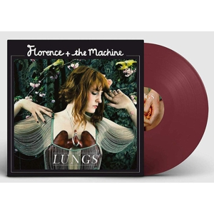 FLORENCE & THE MACHINE - LUNGS (LTD. 10TH ANN. RED COLOURED VINYL)