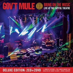 GOV'T MULE - BRING ON THE MUSIC -CD+DV