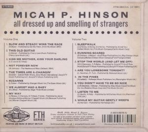 HINSON, MICAH P. - ALL DRESSED UP AND SMELLING OF STRA