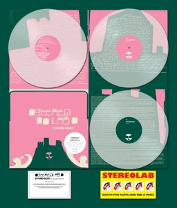 STEREOLAB - SOUND DUST -COLOURED-