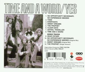 YES - TIME AND A WORD =EXPANDED