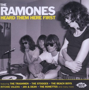 VARIOUS - RAMONES HEARD THEM HERE FIRST