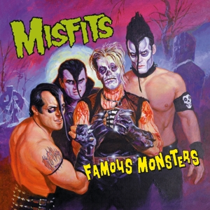 MISFITS - FAMOUS MONSTERS -CLRD-