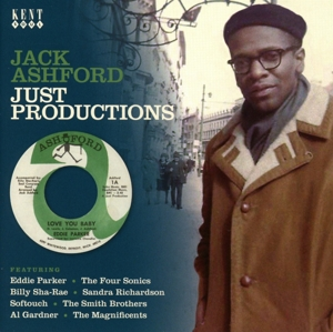 VARIOUS - JACK ASHFORD - JUST PRODUCTIONS