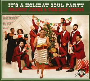 JONES, SHARON & THE DAP-K - IT'S A HOLIDAY SOUL PARTY