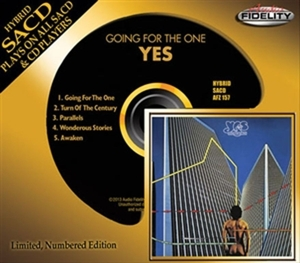 YES - GOING FOR THE ONE -LTD-