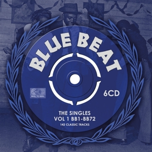 VARIOUS - BLUE BEAT - SINGLES VOL.1 BB1-BB72
