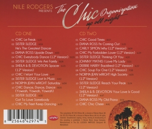 RODGERS, NILE - CHIC ORGANIZATION: UP ALL NIGHT