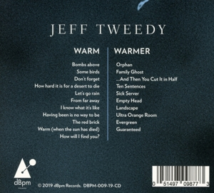 TWEEDY, JEFF - WARM / WARMER -DELUXE-