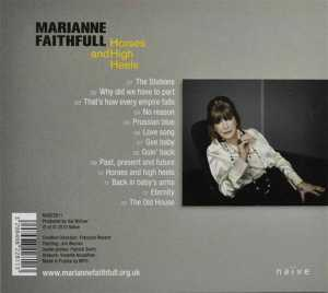 FAITHFULL, MARIANNE - HORSES AND HIGH HEELS