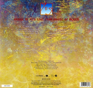 YES - LIVE FROM HOUSE OF BLUES -LP+CD-