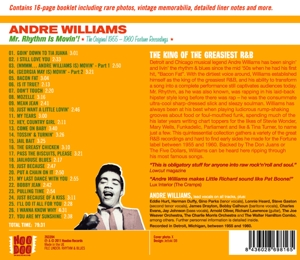 WILLIAMS, ANDRE - MR. RHYTHM IS MOVIN'!