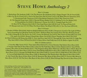 HOWE, STEVE - GROUPS & COLLABORATIONS