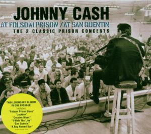 CASH, JOHNNY - AT SAN QUENTIN/FOLSOM..