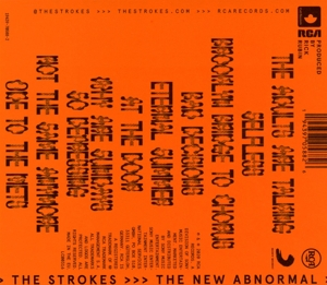 STROKES - NEW ABNORMAL -O-CARD-