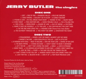 BUTLER, JERRY - SINGLES