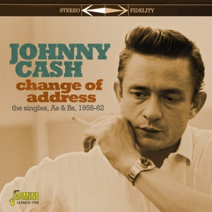 CASH, JOHNNY - CHANGE OF ADDRESS. THE SINGLES AS &