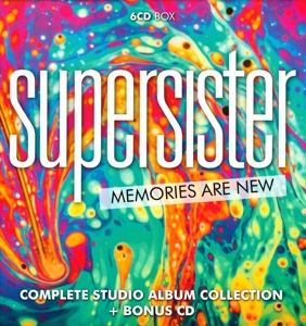 SUPERSISTER - MEMORIES ARE NEW/COMPLETE STUDIO AL
