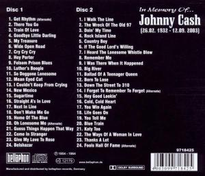 CASH, JOHNNY - IN MEMORY OF