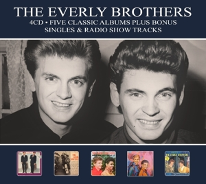 EVERLY BROTHERS - FIVE CLASSIC ALBUMS-DIGI-